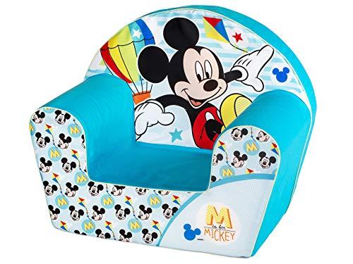 Lulabi Mickey Simply - Sillón infantil, color azul, 3,8 kg