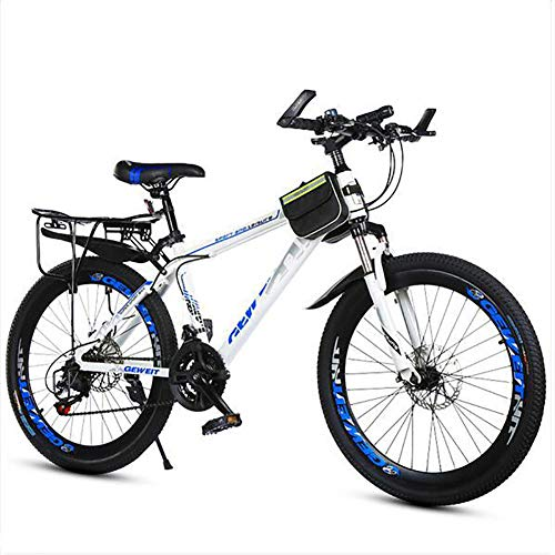 LTJY Mens Mountain Bike, Wheels with Disc Brakes,Lightweight 21-speed mountain bike,Adult mountain bike (men and women),20 inch