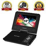 "TEAC 10.1"" Portable DVD Player | Swivel Screen | Carry Bag w Car"