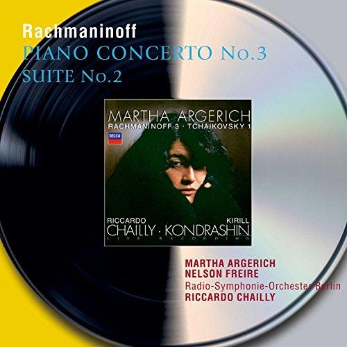 Rachmaninoff: Piano Concerto No. 3,Op. 30 / Suite No. 2 for two pianos ~ Argerich