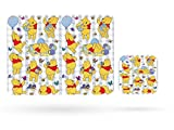 The life of Winnie the Pooh Homeware Dining Placemat Table Mat and Cup Coaster (Table Mat)