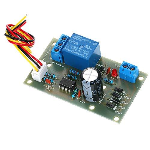 KKmoon vloeistofstandregelaar waterniveau detectie sensormodule 9-12 V AC of DC 12-15 V relais controller schakelaar automatisering detectie pomptank waterniveau regelaar waterniveau regelaar