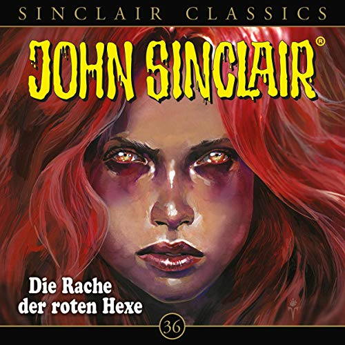 Page de couverture de Die Rache der roten Hexe