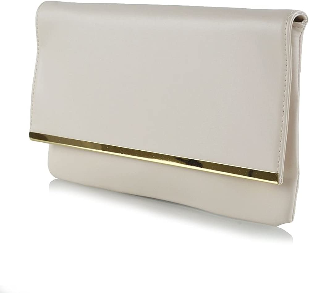 Essex Glam Womens Evening Clutch Easy-to-use Bag Purse Envelope Bridal Recommended Handb