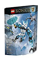 LEGO Bionicle 70782 Protector of Ice Building Kit by LEGO