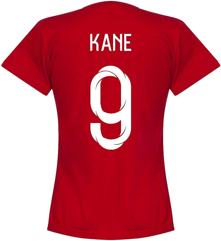 England Kane 9 Team Womens Tee  Red
