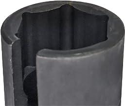 """ENE 22mm 1/2""""Drive Steel Black Verwijder Socket Set Kit 8mm (Size : A)"""