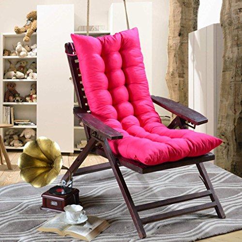 Ouneed® Chaise Coussin Canapé Longue 40*120cm (Rose vif)