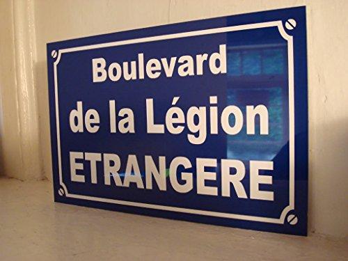 Legion Etrangere placa de calle creación Collector Edition limitada Regalo Original