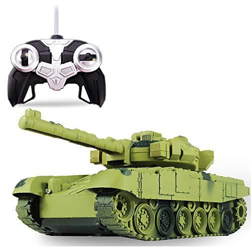 ZAKRLYB Recargable teledirigida Tanque de Juguete Coche eléctrico de Control Remoto de Coches de Juguete del niño Tanque Militar del vehículo blindado Modelo Boy Año Nuevo RC Vehícul