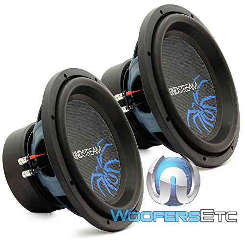 """(2) R3-12 - Pair of Soundstream 12"""" 800W RMS Dual 2-Ohm Reference Subwoofers"""