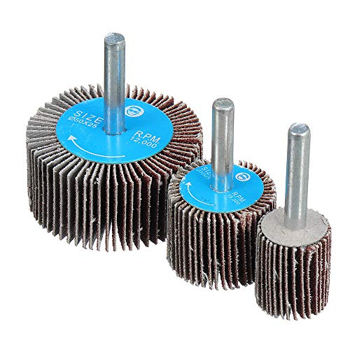 Save %20 Now! CoCocina 120 Grit 15-80Mm Sanding Flap Wheel Polishing Grinding Rotary Drill Tool Disc...