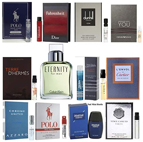 Pilestone's Selection: 12 Cologne Samples For Men All High End Designer Fragrances Good For Event...
