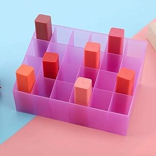24 grilles support de rouge à lèvres présentoir cosmétique organisateur boîte de rangement de maquillage boîte de rangemen...