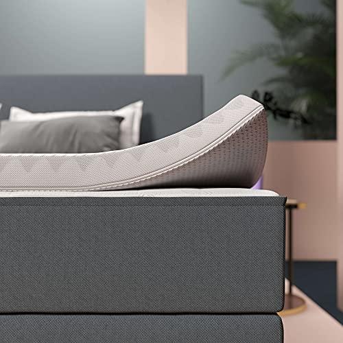 INNOCENT® Airflow 7Zonen HR Topper 200x200 | 3D-Air-Flow | HR Matratzenauflagen 6cm Höhe | Memory Foam Matratzenschoner | für Matratzen & Boxspringbett gegen Rückenschmerzen