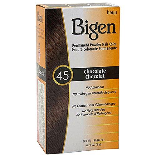 Hoyu Bigen Permanent Powder Hair Popular Chocolate Tucson Mall 0.21 #45 Color Ounce
