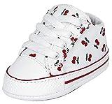 Converse Ctas Crib Sneaker Bianca da Neonato 868015C