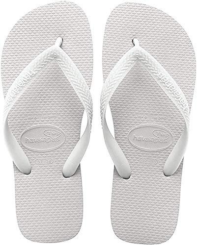Havaianas Unisex-Erwachsene Top Zehentrenner, Weiß (White), 39/40 EU