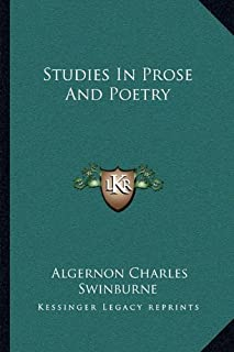 Studies in Prose and Poetry