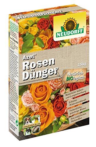 Neudorff Azet RosenDünger, 1kg (Abbildung zeigt 2,5 kg Packung)