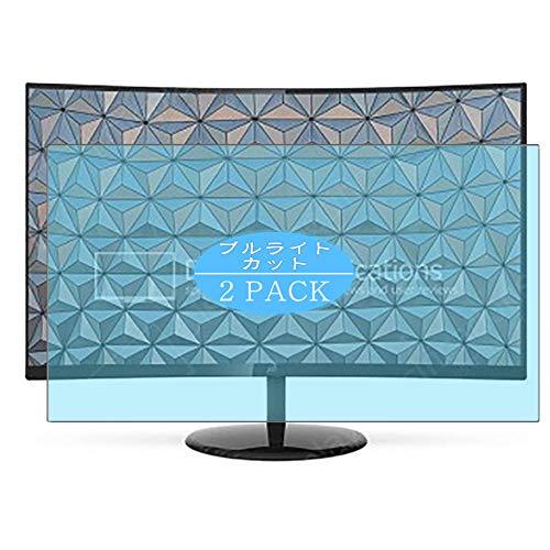 Vaxson - Protector de pantalla antiluz azul compatible con AOC CU32V3 de 31 pulgadas, protector de pantalla de bloqueo de luz azul [no vidrio templado] TPU flexible azul filtro de luz