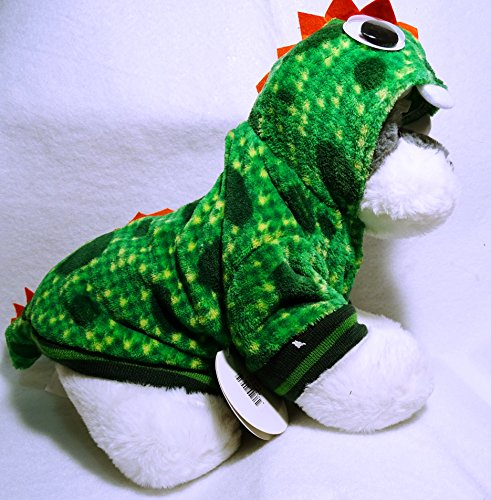 PMP Pet Dragon Costume - Dog Costume Funny Cat Clothes Dogs Cats Super Funny Crazy Style Pet Clothes Best Gift for Halloween Christmas Birthday Cosplay Party Weekend Parties (Small)