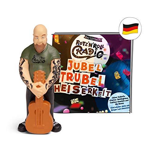 tonies Hörfiguren für Toniebox - Rotz'n'Roll Radio - Jubel Trubel Heiserkeit - ca. 79 Min. - Ab 4 Jahre -DEUTSCH