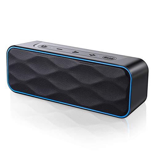Bluetooth Lautsprecher 20W Musikbox, 36 Stunden Spielzeit Bluetooth 5.0 IPX7 Wasserschutz TWS Stereo Sound Intensiver Bass Bluetooth Speaker für Handy, PC, TV