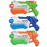 3 Packs Water Guns for Kids Adults Summer Super Fighting Soaker Blaster Swimming Pool Beach Sand Outdoor Play Squirt Water Toys Party Favors