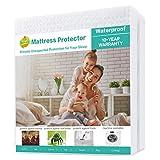 SOPAT Mattress Protector Mattress Overlays 100% Waterproof Mattress Pad Cover 3D Air Fabric