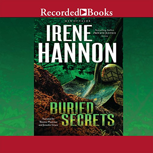 Buried Secrets audiobook cover art