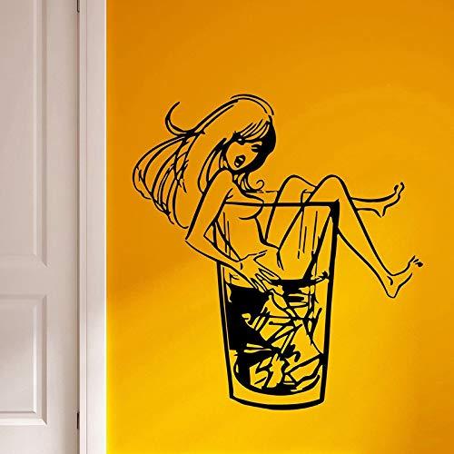 DIY Customized Sexy Mädchen Wandaufkleber Party Home Dekoration Schönheit Dekoration Jugend Poster Wandbild