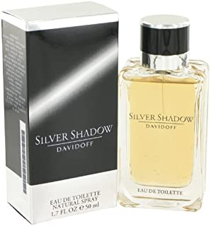 Davidoff Silver Shadow for Men - Eau de Toilette, 50ml