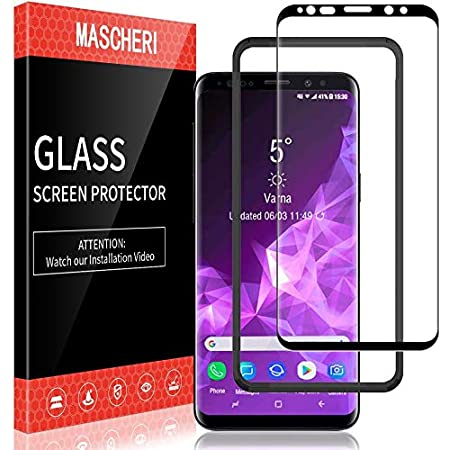 SONWO Schutzfolie f/ür Galaxy S9 Plus Panzerglas 3 St/ück Ultra Clear 9H Panzerglas Displayschutzfolie f/ür Samsung Galaxy S9 Plus HD Klar Tempered Schutzfolie
