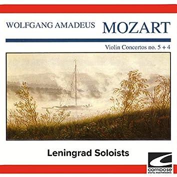 Wolfgang Amadeus Mozart - Violin Concertos no. 5 + 4 (feat. Michail Gantvarg)