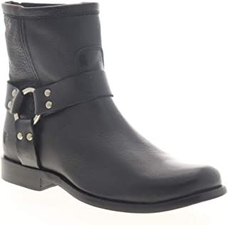 Frye Womens Portia Harness Short Black Casual Dress Boots Boots 6.5