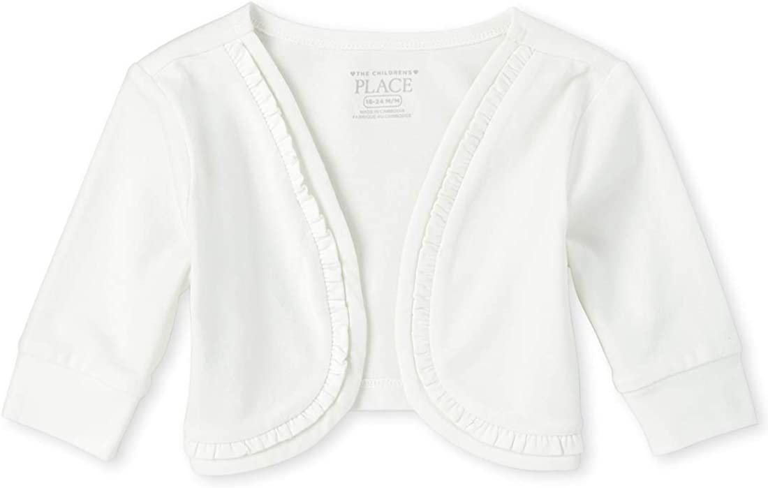 The Children's Place Baby Girls' Short Sleeve Knit Shirt