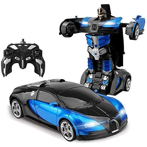 Buy Discount Woote Kids Autobots Remote Control Car Boys Girls Rotation Stunt Drifting Vehicle Defor...