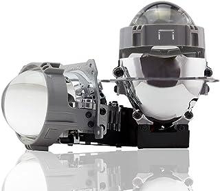 Car Light Accessories - 2Pcs 36W 6500k 2.5inches Auto Bi LED Projector Lens Headlight H7 9005 9006 Car Motorcycle Headligh...
