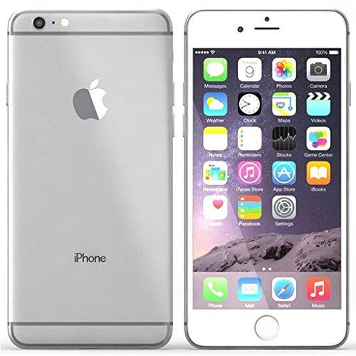 Apple iPhone 6 Plus Plata 64 GB (Renewed)