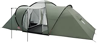 Coleman Tent Ridgeline 4 Plus, 4 Man Tent, 4 People Vis-A-Vis Tunnel Tent, Camping Tent, Dome Tent with Sun Roof, Waterproof HH 3.000 mm