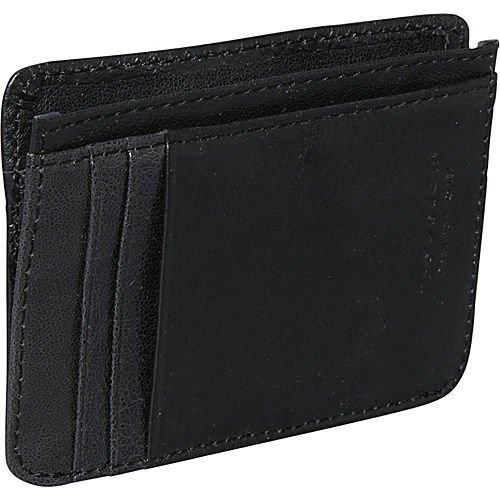 Travelon RFID Blocking Cash and Card Sleeve - Black Mens Wallet New