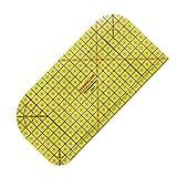 200度耐熱 アイロン 定規 じょうぎ パッチワークテーラークラフト 測定ツール 手芸用品 裁縫道具 10 x 20cm