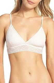 Calvin Klein Women's Bare Lace Bralettes Triangle Bra