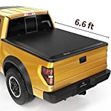 YITAMOTOR Soft Tri-Fold Truck Bed Tonneau Cover Compatible with 2009-2014 Ford F-150 (Excl. Raptor Series), Styleside 6.6 ft Bed