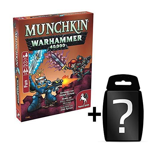 Munchkin - Warhammer 40k - Kartenspiel | DEUTSCH | Set inkl. Kartenspiel