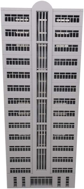 Outland Models Railroad Scenery Skyscraper Building (Curve Top) N Scale
