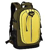 XSY Moda Impermeabile Zaino Fotocamera Multifunzionale Fotografico Borsa per Laptop Viaggi Backpack Bag DSLR SLR Accessori Stoccaggio Verde