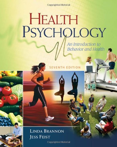 Health Psychology: An Introduction to Behavior and Health...