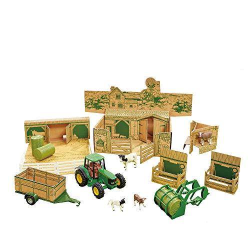 John Deere Britains Farm in a Box - Farm Playset, multi (43257)